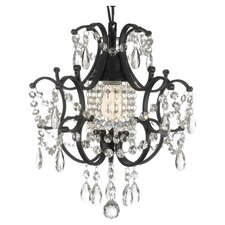 Dash 1 Light Crystal Chandelier
