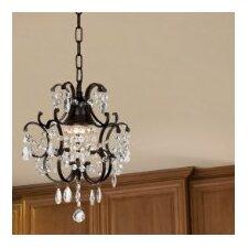 Versailles 1 Light Crystal Chandelier (Set of 2)
