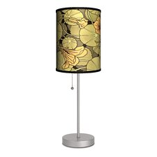 """Decor Art Lily Pad 20"""" H Table Lamp with Drum Shade"""