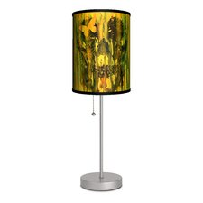 """Artist Nice Bleed """"Birth of Oblivion Color"""" 20"""" H Table Lamp with Drum Shade"""
