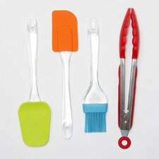 4 Piece Kitchen Utensil Set