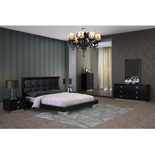 Zara Platform Customizable Bedroom Set