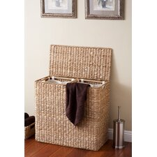 Oversized Divided Hamper with Liner