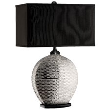 """28.5"""" H Table Lamp with Rectangular Shade"""