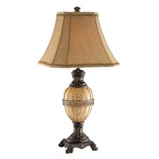 "31.5"" H Table Lamp with Bell Shade"