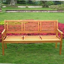 Royal Tahiti Wood Park Bench
