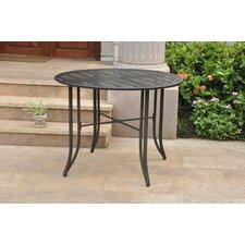 """Mandalay Iron 39"""" Round Patio Dining Table"""