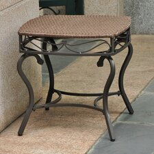 Valencia Wicker Resin Patio Side Table