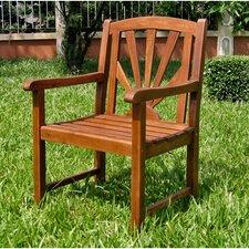 Acacia Patio Sapporo Patio Dining Arm Chair (Set of 2)
