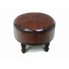 Caravan Faux Leather Ottoman