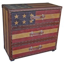Americana 3 Drawer Chest