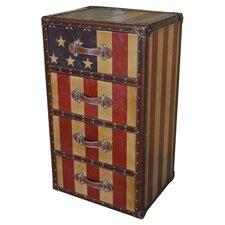 Americana 4 Drawer Chest