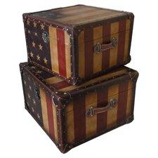 Americana Trunk (Set of 2)