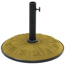 Resin Compound Roman Numeral Patio Umbrella Stand