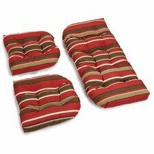 Monserat Outdoor Loveseat Cushion (Set of 2)