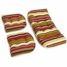McCoury Outdoor Loveseat Cushion (Set of 2)