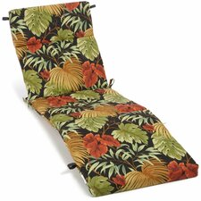 Tropique Outdoor Chaise Lounge Cushion