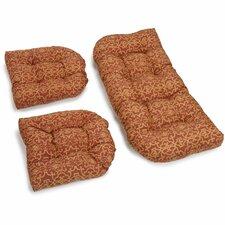 Vanya Outdoor Loveseat Cushion (Set of 2)
