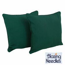 Solid Throw Pillow (Set of 2)