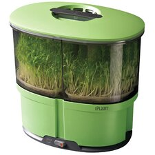 Sprout Garden 13.5'' H x 13'' W x 9'' D Plastic 13.5 mm Greenhouse