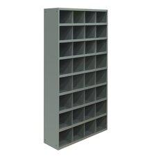 """64.5"""" H x 33.75"""" W x 12"""" D Opening Parts Tall Bin Cabinet"""