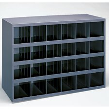 "23.88"" H x 33.75"" W x 12"" D Opening Parts Bin Cabinet"