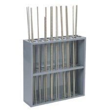 Sturdy Steel Threaded Rod Rack