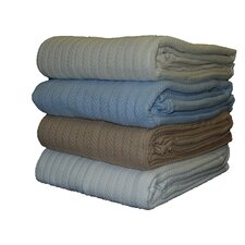 All Seasons Cotton Cable Blanket