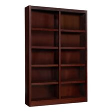 """Double Wide 72"""" Standard Bookcase"""