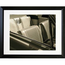Classic Cars Bucket Seats Framed Photographic Print