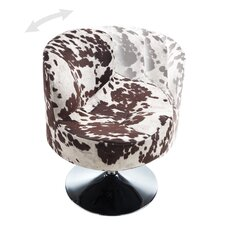 Barnabas Round Swivel Side Chair