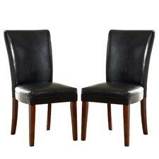 Wingston Faux Leather Parson Chair (Set of 2)