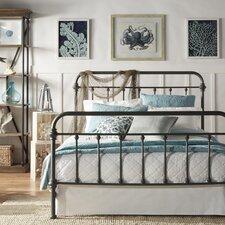 Laroche Metal Panel Bed