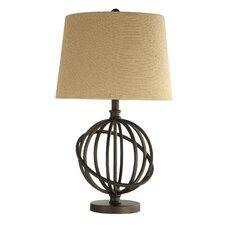 "Alvira Metal Orbit Globe 26"" H Table Lamp with Empire Shade"