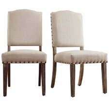 Satine Nailhead Side Chair (Set of 2)