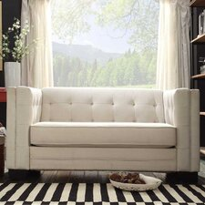 Corvin Square Tufted Upholstered Loveseat