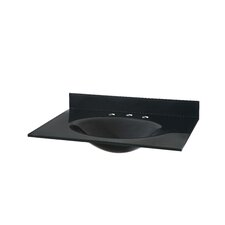 """31"""" Vanity Top with Oval Bowl"""