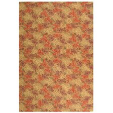 Meadow Crimson/Clover Rug