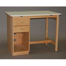 Pedestal Computer Desk