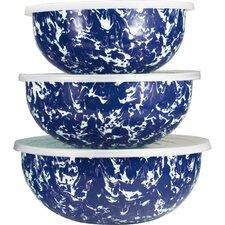 3 Piece Swirl Mixing Bowl Set