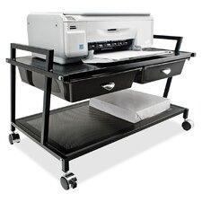 Underdesk Machine Stand with Drawer