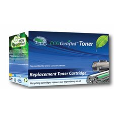 CB542A Eco Certified HP Laserjet Compatible Toner, 1400 Page Yield, Yellow