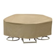 Round Bar Height Table and Chair Cover