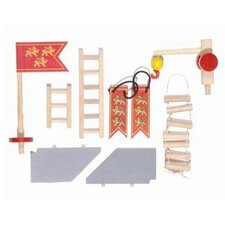 Edix the Medieval Village Castle Accessories Set