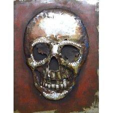 Memento Mori Metal Wall Art
