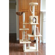 "78"" Premium Ultra Soft Cat Tree"