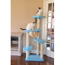 "61"" Premium Ultra Thick Cat Tree"