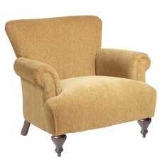 Arm Chair with Turned Leg