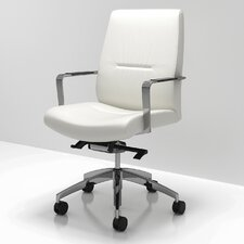 C5 Mid Back Leather Conference Chair