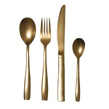 The Midas 24 Piece Steel Electroplated Flatware Set